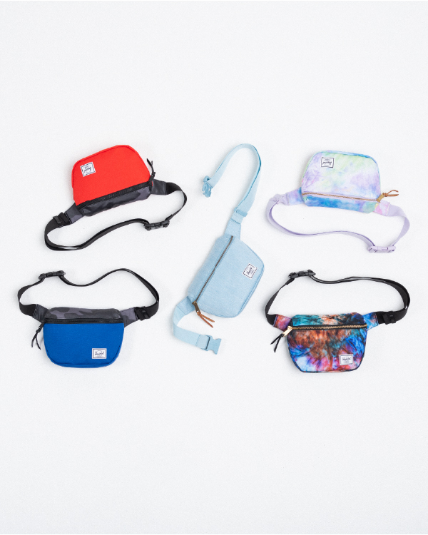 A collection of Fifteen Hip Packs in new seasonal colors